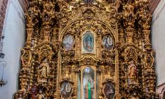 Los Mineros de La Valenciana construyeron un templo
