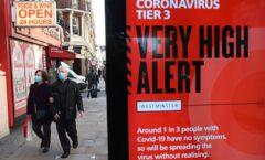Nueva cepa de coronavirus dispara debate y cierre de vuelos en Europa