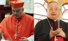Dos cardenales cercanos al Papa dan positivo al coronavirus