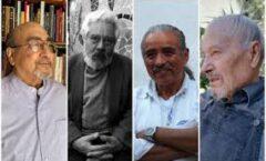 """Adolfo Castañón, Alfredo López Austin, el escultor """"Hersúa"""" y el artesano Mario Agustín Gaspar, son los ganadores del Premio Nacional de Artes y Literatura 2020"""
