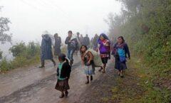 Reportan disparos contra comunidades de Aldama en Chiapas