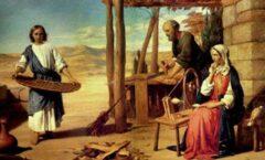 El Hijo de Dios ha querido tener, como todos los niños, el calor de una familia.