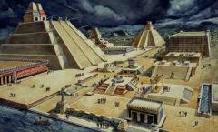 El Templo Mayor, símbolo principal del poderío del pueblo azteca.