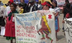 Tras 2 años 'tomada', por yaquis, liberan carretera en Sonora