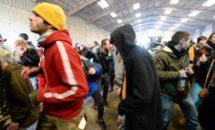 Masiva fiesta clandestina de Nochevieja en Francia en plena pandemia