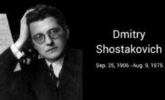 Shostakóvich: dos ojos cegados por la tristeza