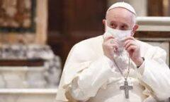 """El Papa ha anunciado que se vacunará """"la semana que viene"""" contra la Covid-19"""