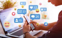 Reportan 4 mil millones de usuarios de redes sociales en el mundo