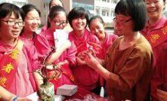 En Wuhan todo es fiesta y celebración
