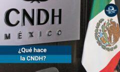 """Si hubiera más capacidad de defensa de las personas por La C N D H """""""
