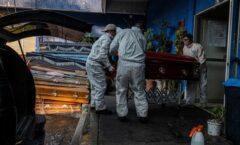 México suma más de 6 mil muertes y 85 mil casos de coronavirus en una semana