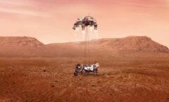 Llega el 'Perseverance' a Marte