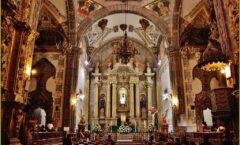 El templo de San Agustín en Salamanca, México.