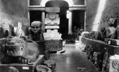 Ante saqueo y el tráfico ilegal de piezas arqueológicas, El INAH forma policía