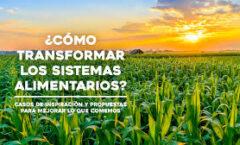 El sistema alimentario debe cambiar; en riesgo, la supervivencia humana