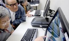 Se han inscrito por Internet 3 millones de adultos mayores