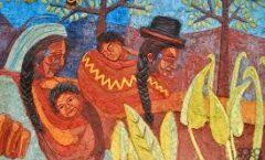 Gil Imaná y el muralismo boliviano