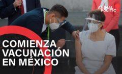 """""""Ya se va a empezar a vacunar a todo el pueblo de México"""" AMLO"""