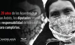 Se cumplen 25 años de los acuerdos de San Andrés sobre derechos y cultura indígena.