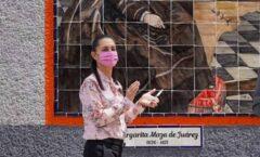 Mural, destaca papel histórico de Margarita Maza de Juárez