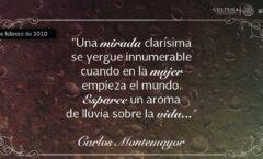 Dos poemas de Carlos Montemayor. El poeta de la guerrilla