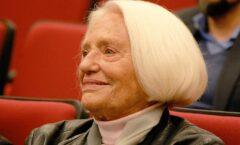 A los 87 años, Montserrat Gispert Cruells rememora los sonidos de los bombardeos