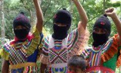 """""""Las que no están"""". desde las mujeres zapatistas"""