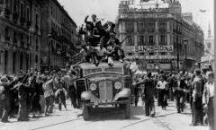 Sólo recuerda la visión del domingo 19 de julio de 1936