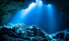 """""""río de piedras"""" debajo del Mar Caribe"""