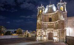 La Basílica de Nuestra Señora de la Soledad en la ciudad de Oaxaca