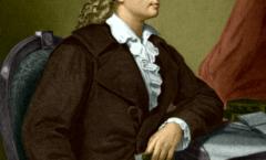 Friedrich Schiller, Marbach am Neckar, 1759-Weimar, 1805