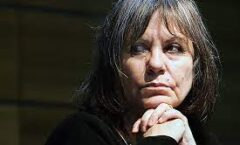 La escritora Diamela Eltit, reconocida ayer con el Premio Internacional Carlos Fuentes