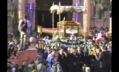 La procesión del Santo Entierro, 306 años de antigüedad en San Miguel de Allende.