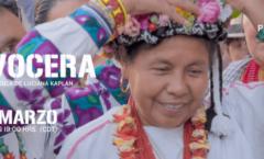"""""""La Vocera"""" documental  festivales de cine en espacios comunitarios,"""