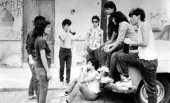 """Las chavas banda de los 80 en """"La diosa del asfalto"""""""