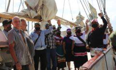 """""""La imagen del barco ha sido parte central de las metáforas de la narrativa zapatista""""."""