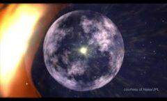 Mapa tridimensional del límite de la heliosfera