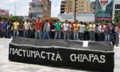 Logran normalistas de Mactumactzá libertad condicional