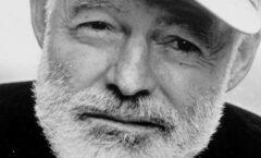 Ernest Hemingway (1899/07/21 - 1961/07/02)