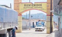 La cabecera municipal de Pantelhó,pueblo fantasma