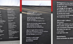 """Poesía mexicana en París """"Morder la sombra / Mordre l'ombre"""" poemaAyotzinapa"""