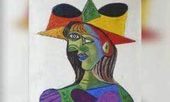 Busto de mujer,de Picasso,