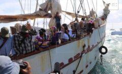 La travesía zapatista desborda al movimiento antiglobalización