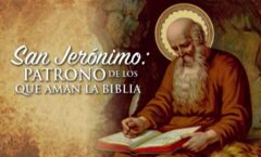 Describir a San Jerónimo no es tarea fácil. enciclopédico. En el 386 tradujo la Biblia.