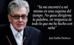 El hombre oculto en José Emilio Pacheco; sus paradojas y desacuerdos