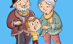 Los abuelos son uno de los regalos de la vida más preciados.