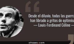 Resurrección de Louis Ferdinand Céline -1894 - 1961
