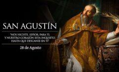 Aurelius Augustinus de Hipona; Tagaste, hoy Suq Ahras, actual Argelia, 354  430
