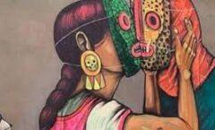 Una poeta indígena  que sea la agregada cultural en España