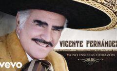 Vicente Fernández estágrave pero estable